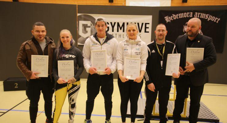 SM 2018 - Årets utmärkelser inom Svensk Armsport under 2017