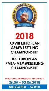 Europeiska Mästerskapen i Armbrytning (EM) 2018